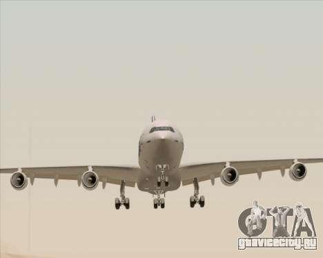 Airbus A340-311 House Colors для GTA San Andreas вид сзади