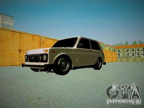 ВАЗ 2121 для GTA San Andreas вид сбоку