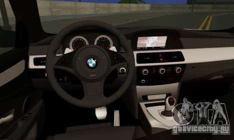 BMW M5 E60 Stance Works для GTA San Andreas вид сзади слева