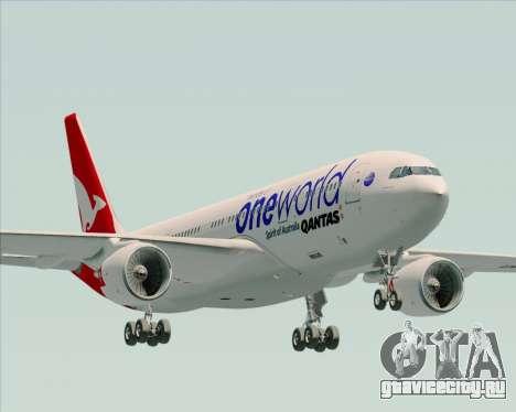 Airbus A330-200 Qantas Oneworld Livery для GTA San Andreas