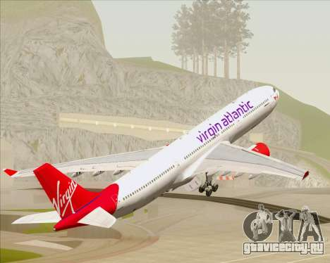 Airbus A330-300 Virgin Atlantic Airways для GTA San Andreas