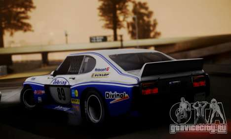 Ford Capri RS Cosworth 1974 Skinpack 2 для GTA San Andreas вид слева