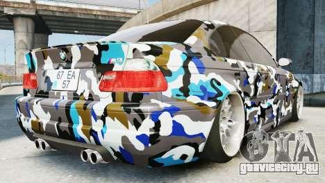 BMW M3 E46 Emre AKIN Edition для GTA 4 вид слева