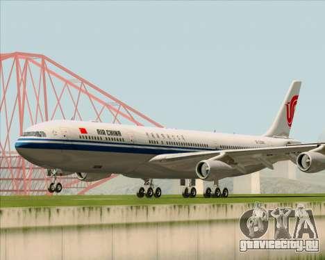 Airbus A340-313 Air China для GTA San Andreas вид слева