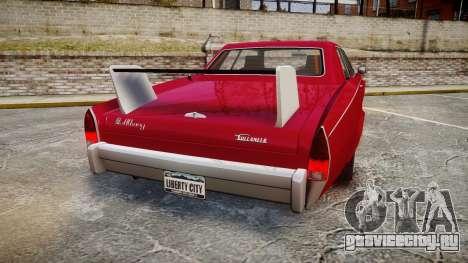 Albany Buccaneer Modified для GTA 4 вид сзади слева