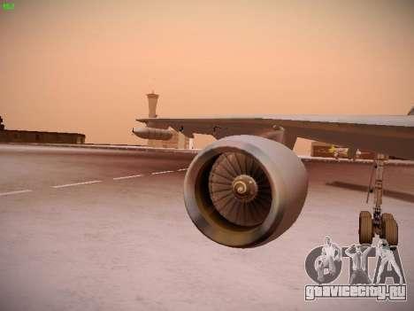 Airbus A310 MRTT Luftwaffe (German Air Force) для GTA San Andreas колёса