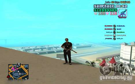 C-HUD GTA Vice City edited SampHack для GTA San Andreas второй скриншот