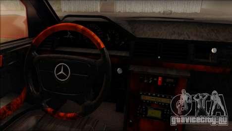Mercedes-Benz W210 E55 для GTA San Andreas вид сзади слева