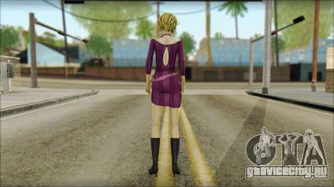 Vivian from Wolf Among Us для GTA San Andreas второй скриншот