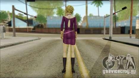 Vivian from Wolf Among Us для GTA San Andreas второй скриншот