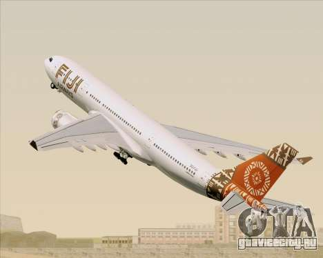 Airbus A330-200 Fiji Airways для GTA San Andreas колёса