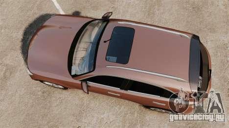 Infiniti FX 45 2008 RP для GTA 4 вид справа