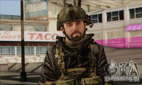 Task Force 141 (CoD: MW 2) Skin 8 для GTA San Andreas третий скриншот
