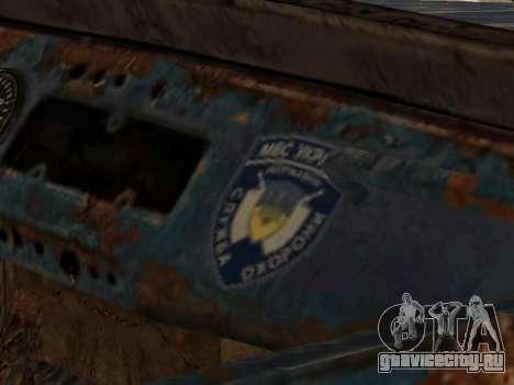 Полицейский УАЗ из S.T.A.L.K.E.R для GTA San Andreas вид справа