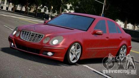 Mercedes-Benz E320 для GTA 4 вид слева