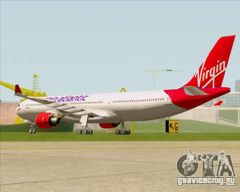 Airbus A330-300 Virgin Atlantic Airways для GTA San Andreas вид справа