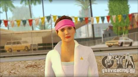 Amanda De Santa для GTA San Andreas третий скриншот