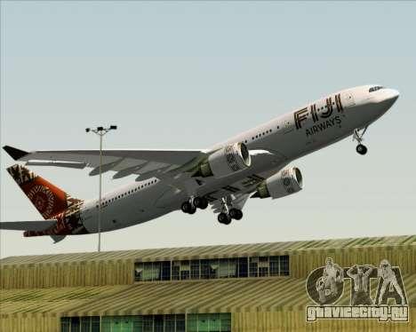 Airbus A330-200 Fiji Airways для GTA San Andreas вид снизу