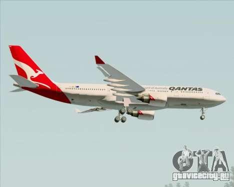 Airbus A330-200 Qantas для GTA San Andreas вид сверху