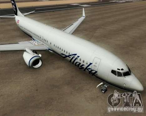 Boeing 737-890 Alaska Airlines для GTA San Andreas