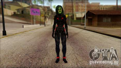 Guardians of the Galaxy Gamora v1 для GTA San Andreas
