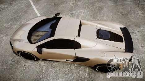 McLaren 650S Spider 2014 [EPM] Yokohama ADVAN v2 для GTA 4 вид справа