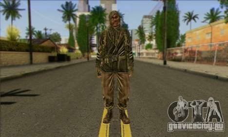Task Force 141 (CoD: MW 2) Skin 12 для GTA San Andreas