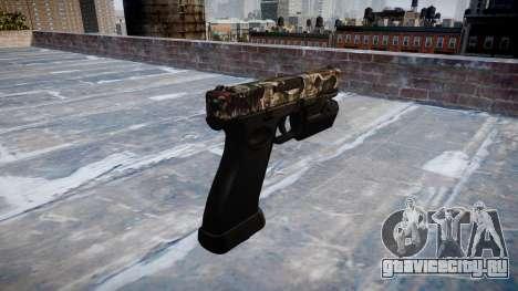 Пистолет Glock 20 zombies для GTA 4 второй скриншот