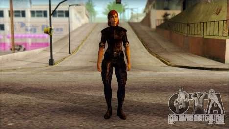 Mass Effect Anna Skin v6 для GTA San Andreas