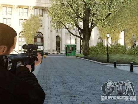 Barrett M107CQ для GTA 4 второй скриншот