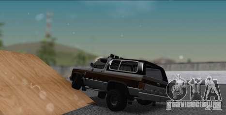 Chevrolet Blazer K5 для GTA San Andreas вид слева
