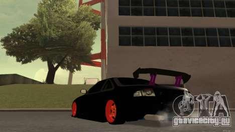 Nissan Silvia S14 для GTA San Andreas вид справа