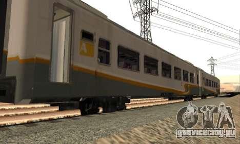 K1 Argo Traincar индонезийский для GTA San Andreas вид слева