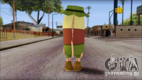 Campguy from Sponge Bob для GTA San Andreas второй скриншот
