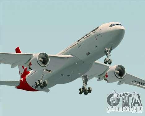 Airbus A330-200 Qantas для GTA San Andreas вид сбоку