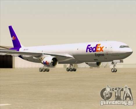 Airbus A330-300P2F Federal Express для GTA San Andreas вид слева