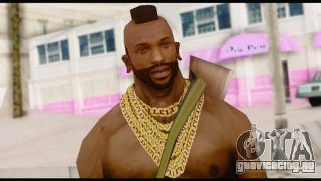 MR T Skin v5 для GTA San Andreas третий скриншот