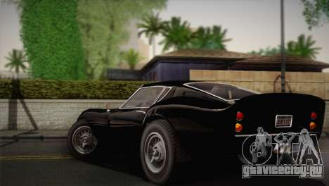 GTA 5 Stinger GT (IVF) для GTA San Andreas вид слева