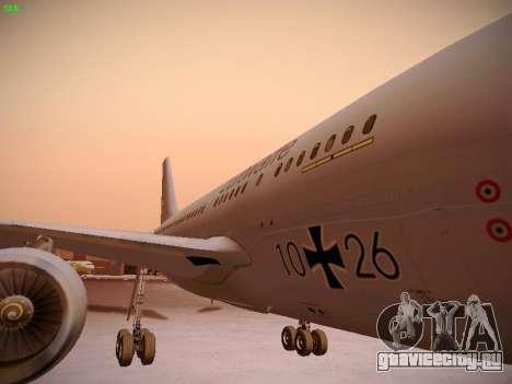 Airbus A310 MRTT Luftwaffe (German Air Force) для GTA San Andreas вид сверху
