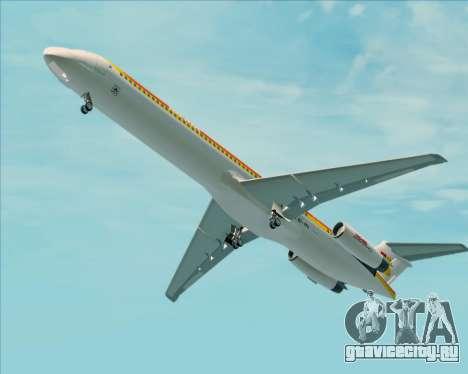 McDonnell Douglas MD-82 Iberia для GTA San Andreas двигатель