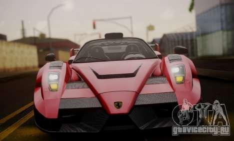 Ferrari Gemballa MIG-U1 для GTA San Andreas вид сбоку