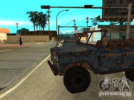 Полицейский УАЗ из S.T.A.L.K.E.R для GTA San Andreas вид слева