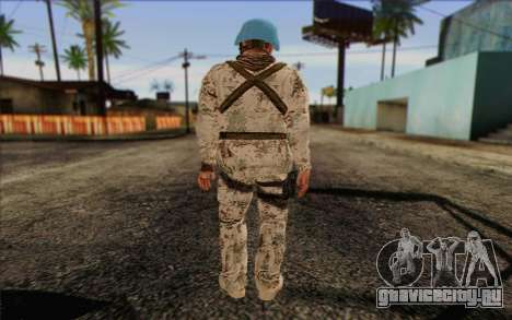 Немецкий Миротворец для GTA San Andreas второй скриншот