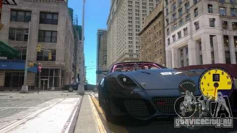 Датчики Машины для GTA 4 третий скриншот