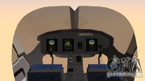 Bell 429 v3 для GTA San Andreas вид сзади слева