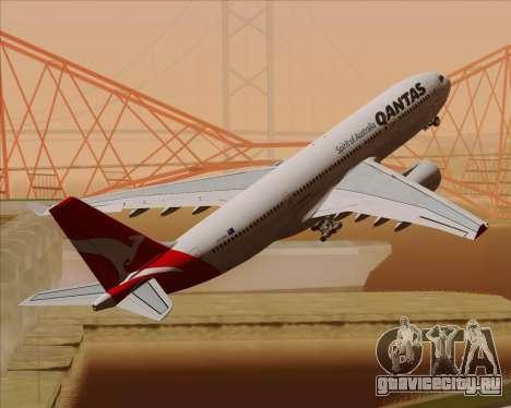 Airbus A330-200 Qantas для GTA San Andreas двигатель