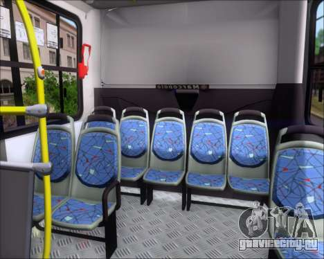 Marcopolo Torino 2007 Volksbus 17-230 EOD для GTA San Andreas салон