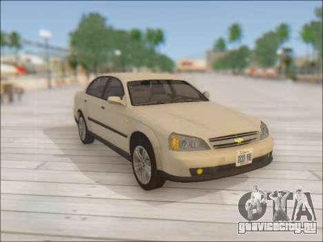 Chevrolet Evanda для GTA San Andreas вид сбоку
