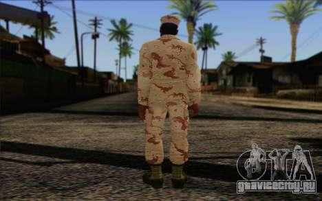 California National Guard Skin 2 для GTA San Andreas второй скриншот