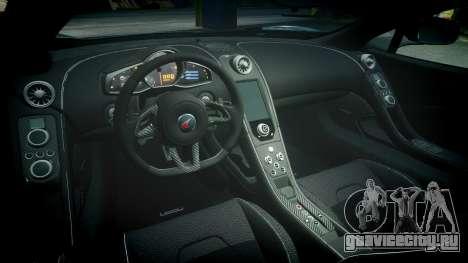 McLaren 650S Spider 2014 [EPM] Yokohama ADVAN v2 для GTA 4 вид изнутри